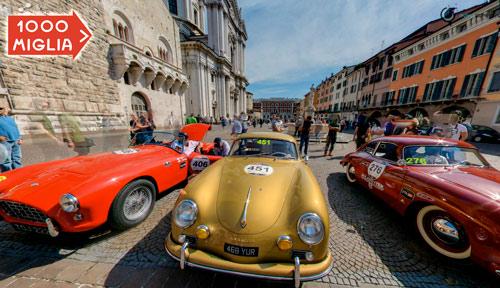 Visit 1000 Miglia race cars