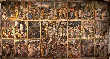 Santa Maria delle Grazie – La parete Gaudenziana